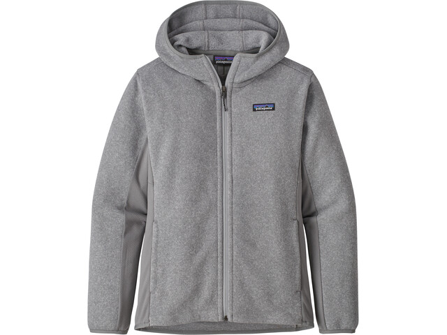 Patagonia Lightweight Better Sudadera con Capucha Mujer, feather grey